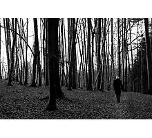 lonesome walk Photographic Print