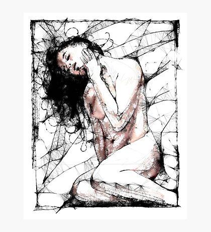 Her Web Photographic Print