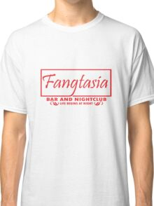 Fangtasia bar and nightclub geek funny nerd Classic T-Shirt