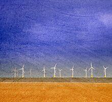 Scroby Sands Wind Farm, Norfolk by DaveTurner