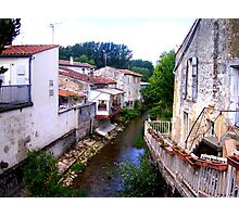 St. Jean d'Angely, France Photographic Print