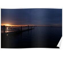 Bay Area Sunrise  •  Berkeley Marina Poster