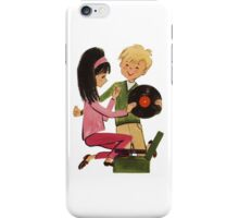 Kids Vinyl Record Love iPhone Case/Skin