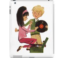 Kids Vinyl Record Love iPad Case/Skin