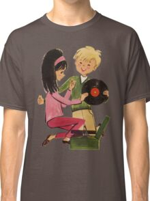 Kids Vinyl Record Love Classic T-Shirt