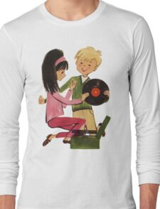 Kids Vinyl Record Love Long Sleeve T-Shirt