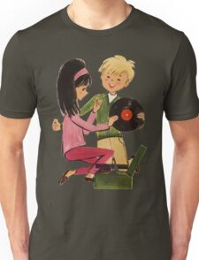 Kids Vinyl Record Love Unisex T-Shirt