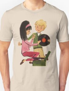 Kids Vinyl Record Love T-Shirt