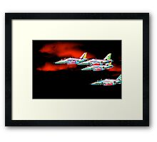Red Arrows 1 Framed Print