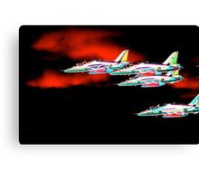 Red Arrows 1 Canvas Print