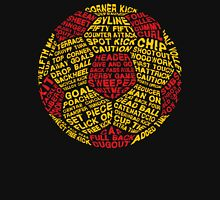 Soccer Ball Typography Unisex T-Shirt