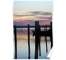 Brown's Marina Sunset Poster
