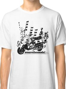 We Are The Mods Vespa Scooter Classic T-Shirt
