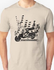 We Are The Mods Vespa Scooter Unisex T-Shirt