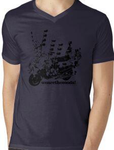 We Are The Mods Vespa Scooter Mens V-Neck T-Shirt