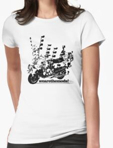We Are The Mods Vespa Scooter Womens Fitted T-Shirt