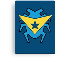 Blue Beetle and Booster Gold Canvas Print