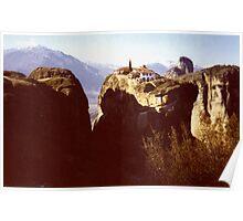 Agia Triada - The Holy Trinity Monastery, Meteora Poster