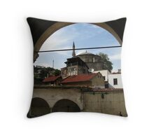 A Mosque in Safranbolu. Throw Pillow