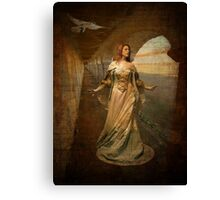 """Looking for her Knight"" Canvas Print"