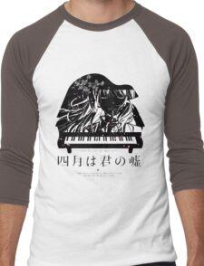 Shigatsu wa Kimi no Uso - Your lie in April Men's Baseball ¾ T-Shirt