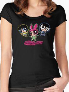 Burgerpuff Kids Women's Fitted Scoop T-Shirt