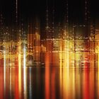 Big city nights by Angela King-Jones