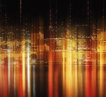Big city nights by Angela King-Jones