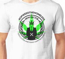 #OPWEEDTHEHOMELESS T-shirt. (don't order dark colors!) Unisex T-Shirt