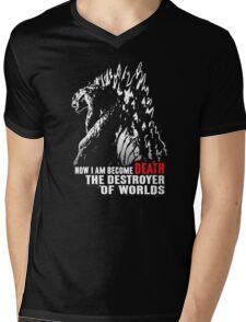World Destroyer Mens V-Neck T-Shirt