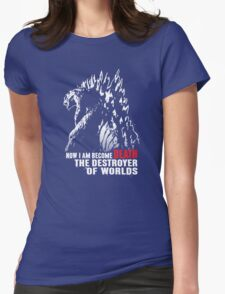 World Destroyer Womens Fitted T-Shirt