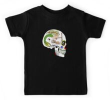 Navy AD - Day of the Dead Skull Kids Tee