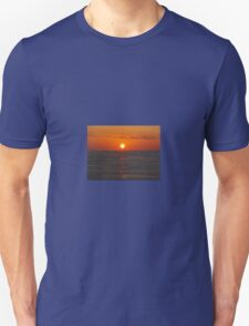 Sunset on the Mediterranean Unisex T-Shirt