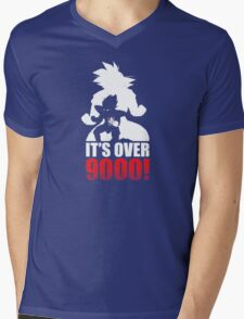 Over 9000 Mens V-Neck T-Shirt