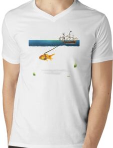 ON THE WAY  Mens V-Neck T-Shirt