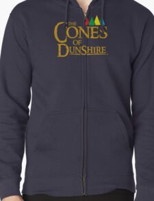 The Cones Of Dunshire Zipped Hoodie
