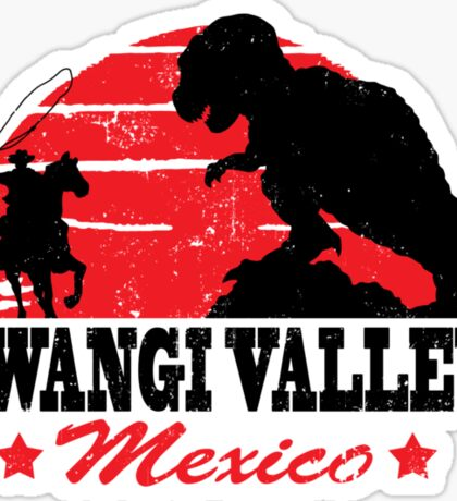Gwangi Valley Sticker