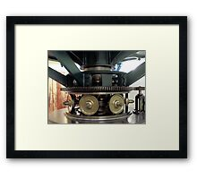 Clockwork In Motion Framed Print