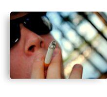 Cigarette Break Canvas Print