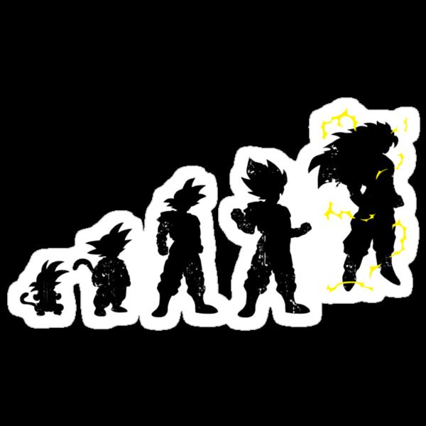 Monkey Evoltuion by Baznet