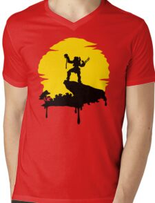 Apex Predator Mens V-Neck T-Shirt