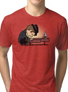 Drunk Piano Tri-blend T-Shirt