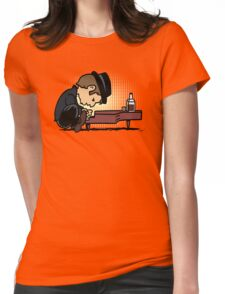 Drunk Piano Womens Fitted T-Shirt