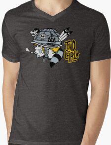 Toad Girl Mens V-Neck T-Shirt