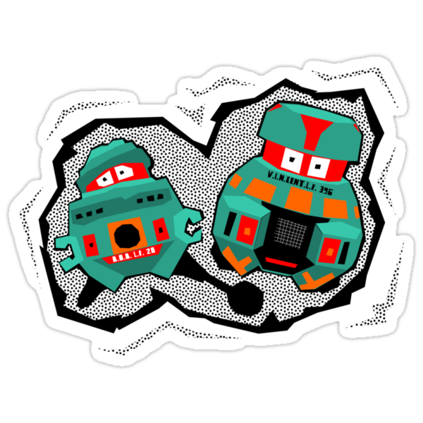 Black Hole Bots by robotrobotROBOT