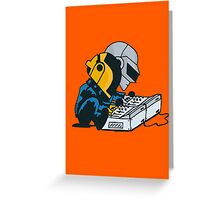Daft Nuts Greeting Card