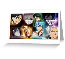 Anime Mix (1) Greeting Card
