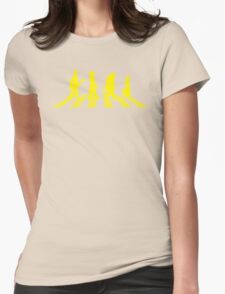 Yellow Brick Abbey Road Womens Fitted T-Shirt