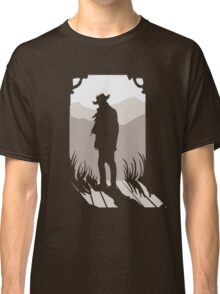 Old Western Silhouette Classic T-Shirt