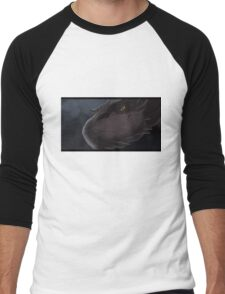 Smaug descends on Laketown Men's Baseball ¾ T-Shirt